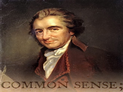 "common sense pamphlet. Paine in ""Common Sense,"""